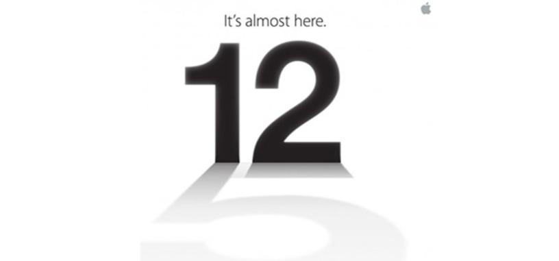 El iPhone 5 se presentará el 12 de septiembre