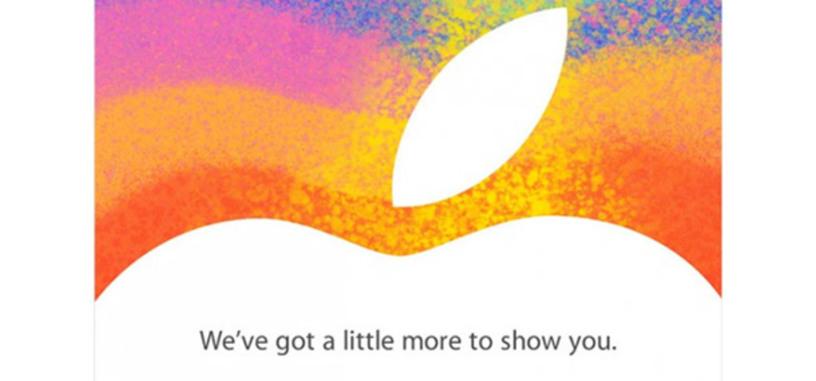 Apple envía las invitaciones para el evento del 23 de octubre
