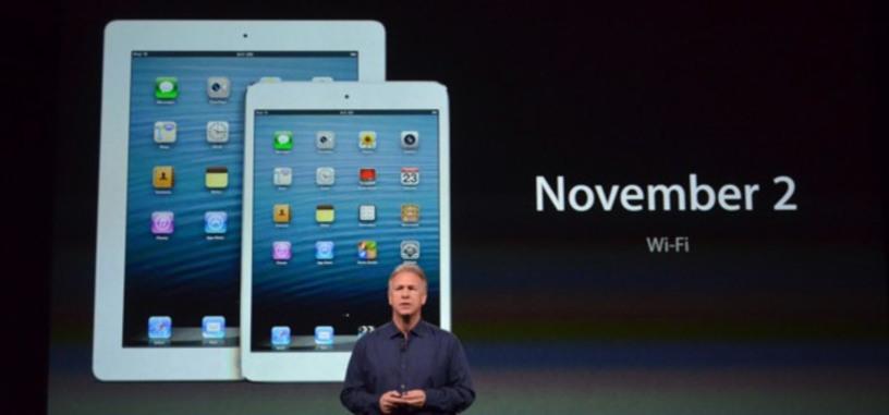 Conferencia de Apple: todo lo que han presentado (23 Oct 2012)
