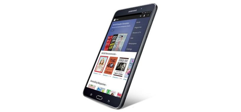 La editorial Barnes & Noble y Samsung unen fuerzas en la tableta Galaxy Tab 4 Nook