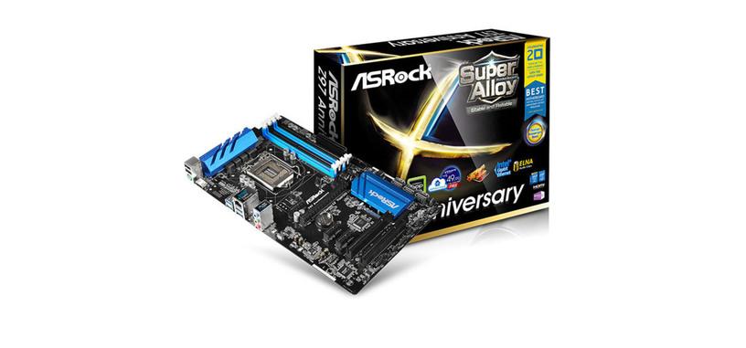 ASRock muestra las placas base con las que celebrará el 20 aniversario de los Pentium