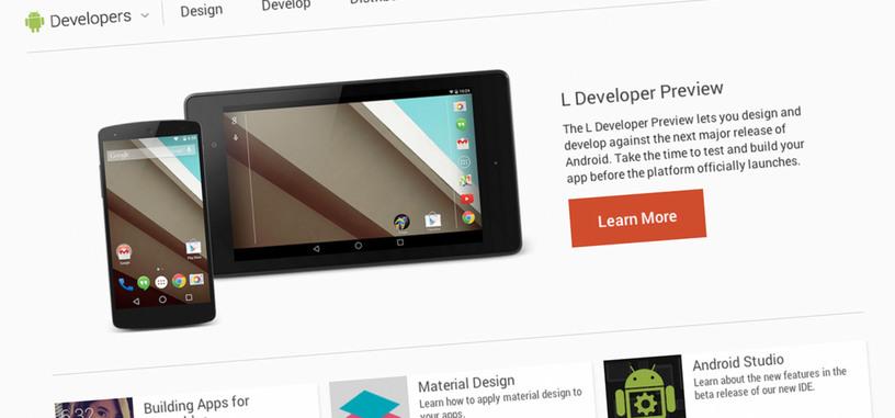 El código fuente de Android L ya está disponible para los dispositivos Google Nexus