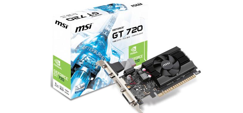 NVIDIA lanza al mercado la nueva GT 720, destinada a la gama de entrada