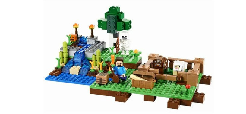 LEGO Minecraft volverá a las tiendas con nuevas cajas de piezas