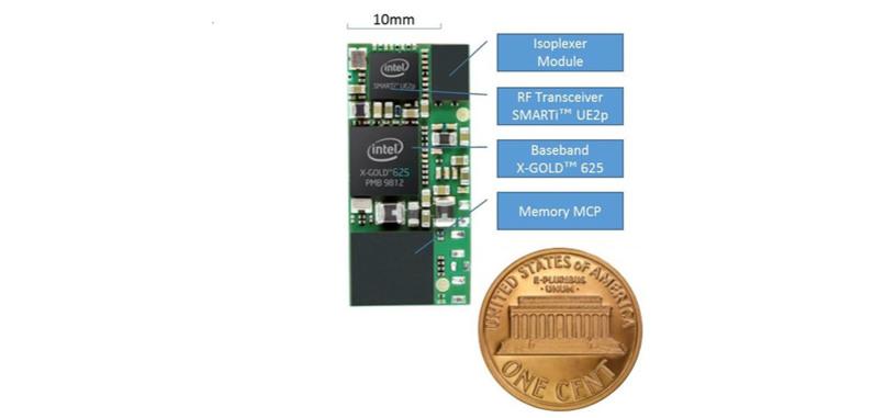 El nuevo módem 3G de Intel tiene el tamaño de una moneda, ideal para relojes inteligentes