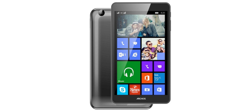 Archos prepara una tableta Windows 8.1 por 130 euros