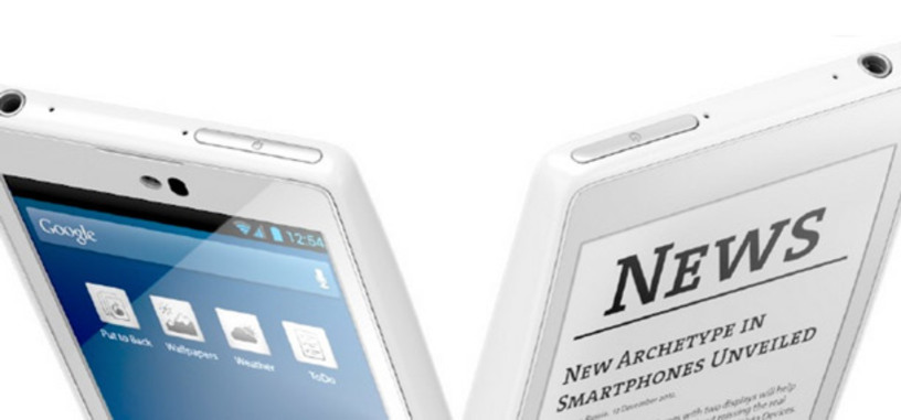 Yota Devices anuncia un móvil Android de doble pantalla: LCD y E-Ink