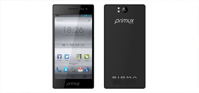 Primux Sigma, un nuevo smartphone para la pujante gama media