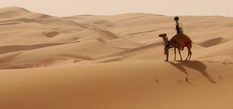 Google mapea el desierto árabe con Street View a lomos de un camello