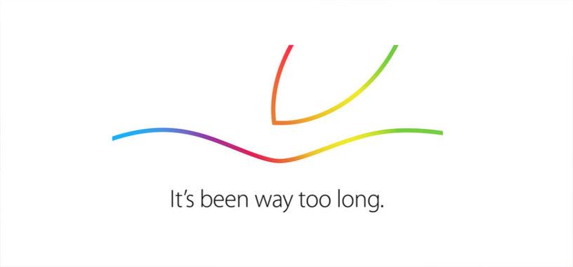 Apple confirma un evento para el 16 de octubre para presentar nuevos iPads e iMacs