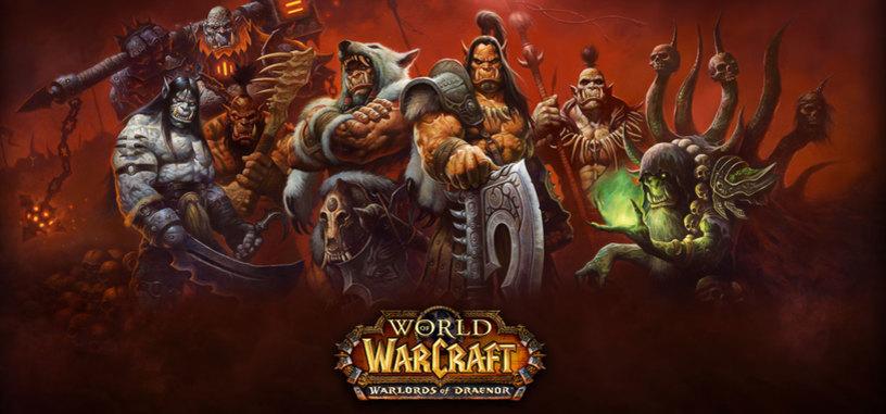 La expansión Warlords of Draenor hace aumentar un 35% los suscriptores de WoW