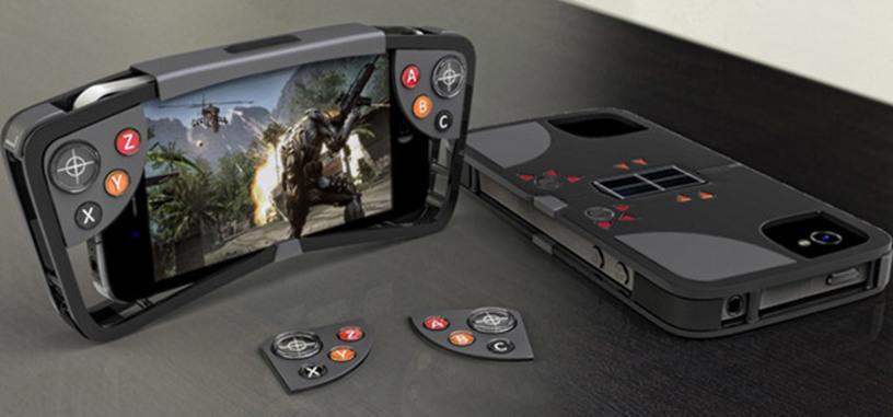 Llega a Kickstarter un protector de móvil/controlador de juegos para el iPhone