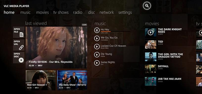 El proyecto de Kickstarter para llevar VLC a Windows 8 alcanza su objetivo de donaciones