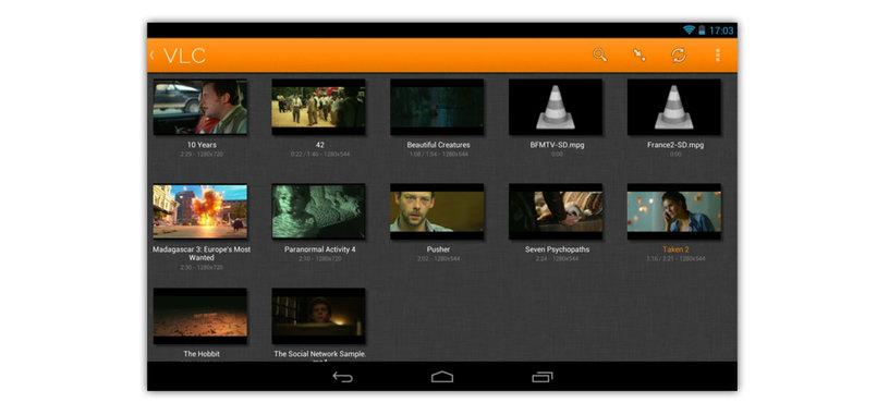 La versión de VLC para Android sale de la fase beta