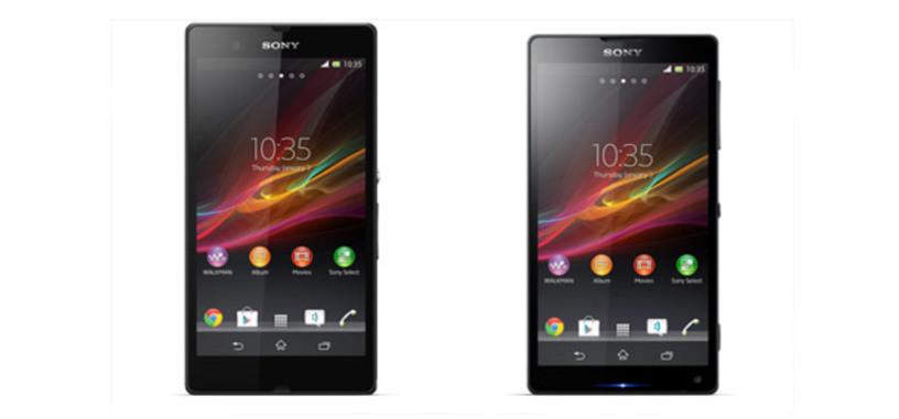 Sony tiene disponible en su web imágenes del Xperia Z 'Yuga' y ZL 'Odin', antes del CES 2013 de la próxima semana