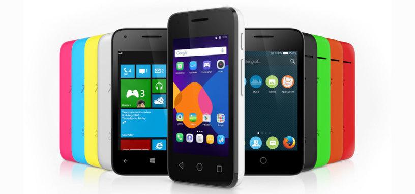 Alcatel Pixi 3, la serie de smartphones compatibles con Android, Firefox OS y Windows Phone