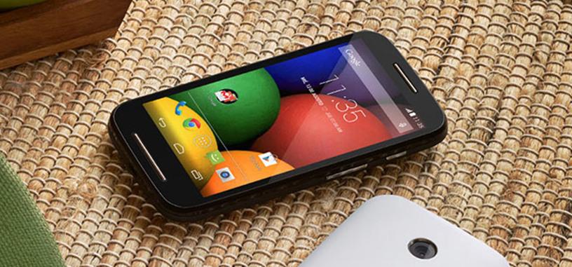 Oferta: el precio del Motorola Moto E baja hasta los 75 euros