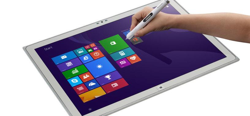 Panasonic muestra una tableta de 20 pulgadas y resolución 4K