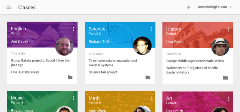 Google Classroom llega a iOS y Android para facilitar la labor de alumnos y profesores
