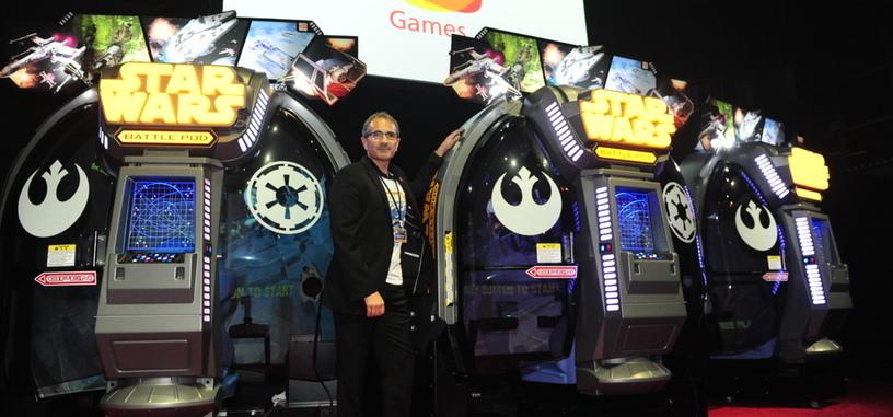 Las máquinas recreativas no están muertas, y 'Star Wars: Battle Pod' lo demuestra
