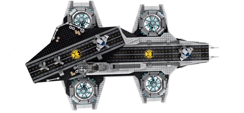 Lego sacará esta primavera un set con el Helitransporte de SHIELD