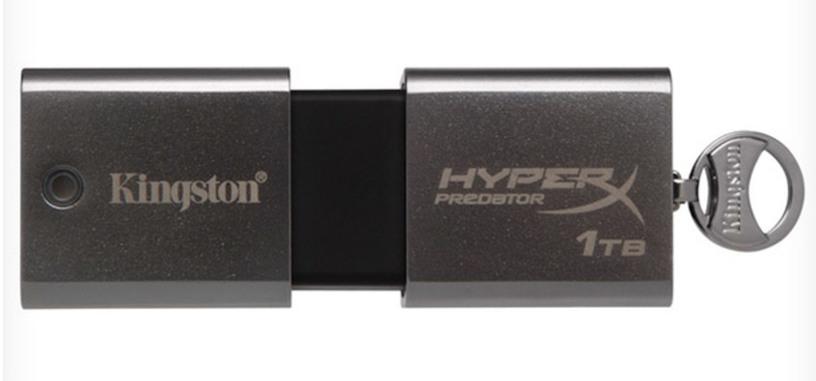 Kingston introduce un pendrive de 1TB: DataTraveler HyperX Predator
