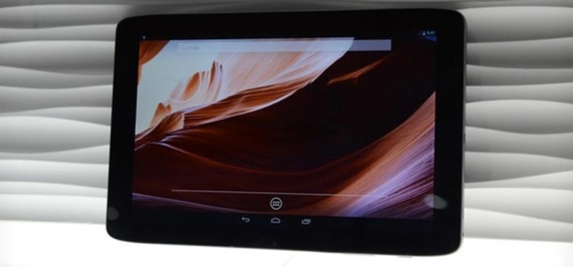 Vizio 10-inch tablet  Android y procesador Tegra 4, y Vizio Tablet PC con Windows 8 y procesador AMD