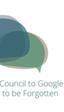 El consejo asesor para el derecho al olvido elegido por Google dice que Google tiene razón en su postura