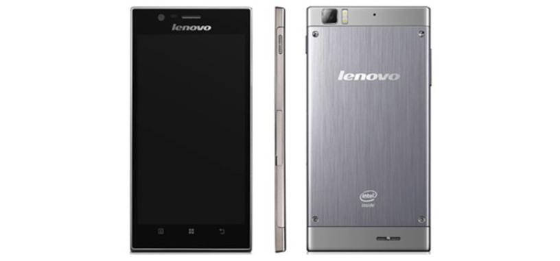 Lenovo IdeaPhone K900, primer móvil con procesador Intel Clover Trail+; pantalla de 5.5 pulgadas