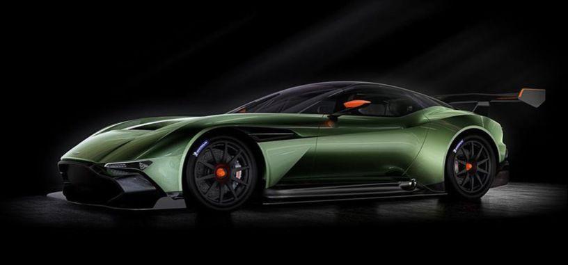 Aston Martin Vulcan promete no dejar indiferentes a los apasionados del motor