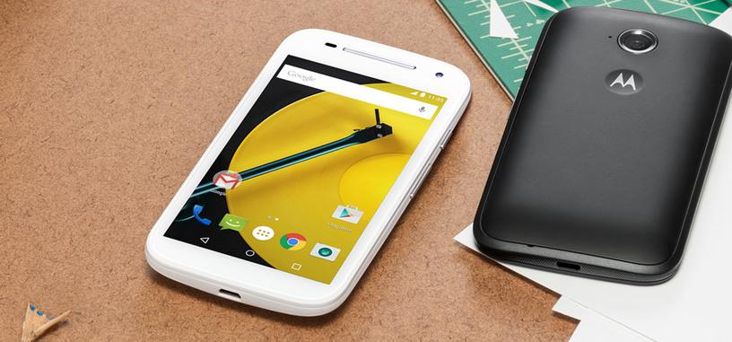 El nuevo Motorola Moto E (2015) ya está a la venta en España
