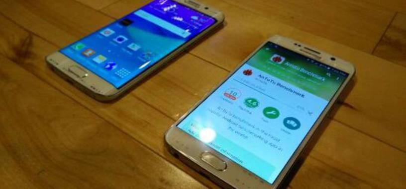 Galaxy S6 Edge y Galaxy S6 frente a frente en las dos últimas imágenes filtradas