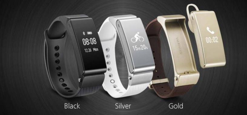 Huawei Talkband B2, nueva pulsera de fitness con la que podrás responder llamadas