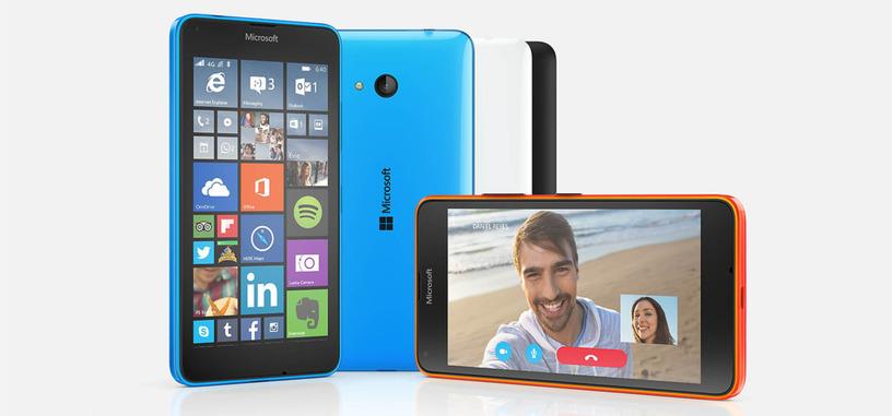 Microsoft Lumia 640 y phablet Lumia 640 XL, más variedad a precios asequibles