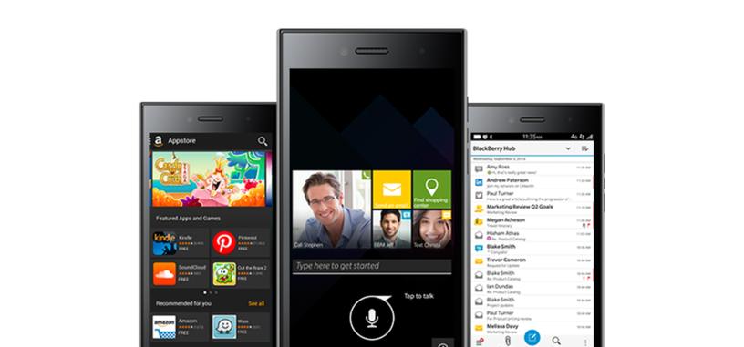BlackBerry Leap, nuevo teléfono dirigido a las startups, hasta 25 horas de uso intenso