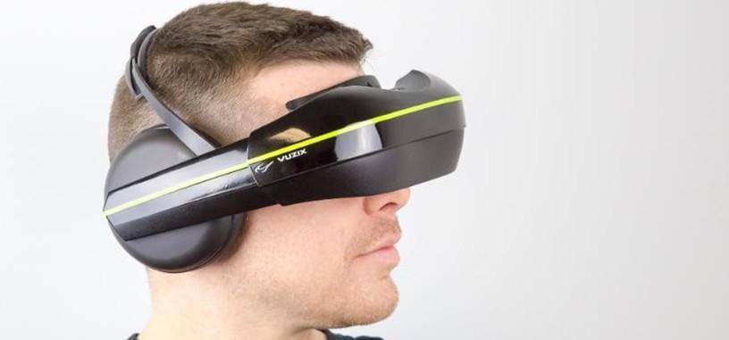 Vuzix presenta otras gafas de realidad virtual con auriculares y soporte multidispositivo