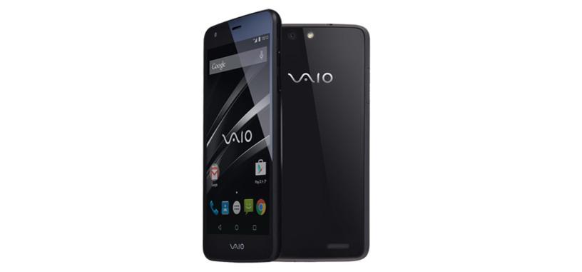 VAIO presenta su primer teléfono, un gama media con Android 5.0