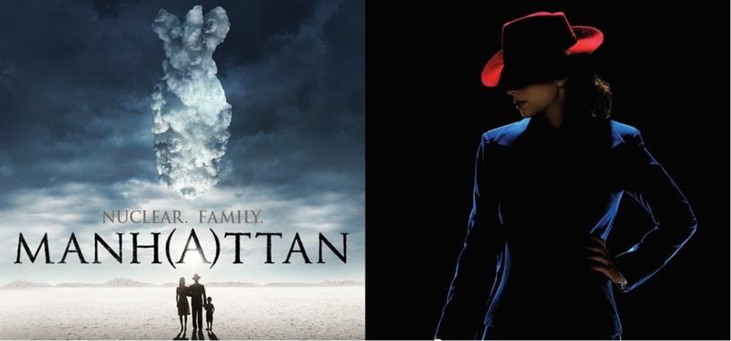 Series que deberías ver: 'Manhattan' y 'Agent Carter'