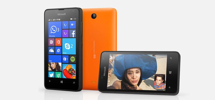 Lumia 430 Dual SIM, Microsoft presenta su teléfono más barato