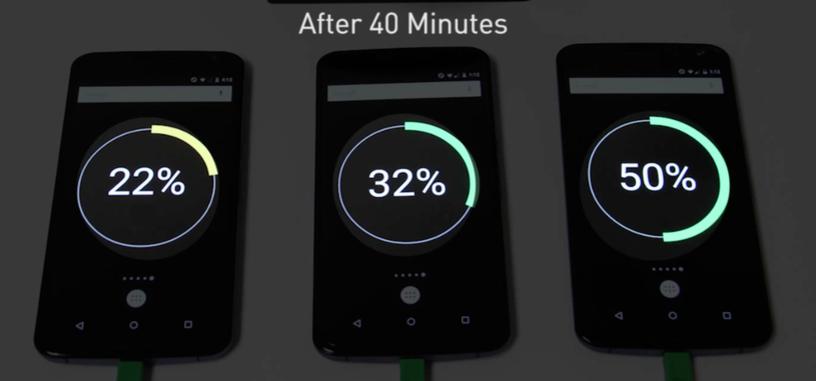 Qualcomm muestra en vídeo lo rápido que carga un teléfono con Quick Charge 2.0