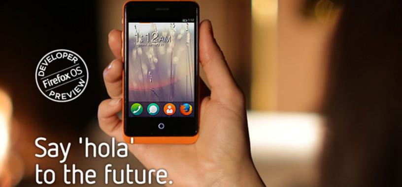 GeeksPhone presenta dos móviles con Firefox OS para desarrolladores