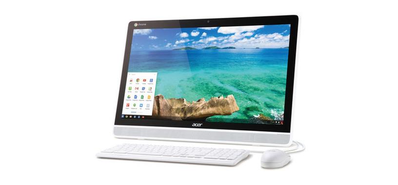 Acer Chromebase, el primer todo en uno de la compañía con Chrome OS y pantalla táctil