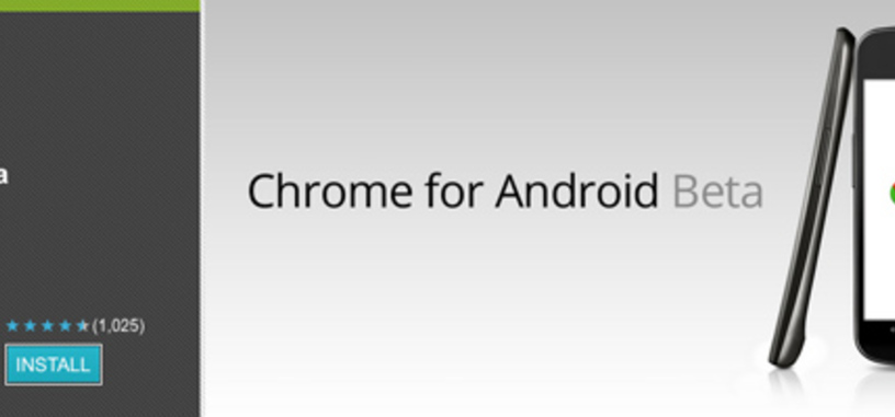 Beta de Google Chrome para Android ya disponible en el Android Market