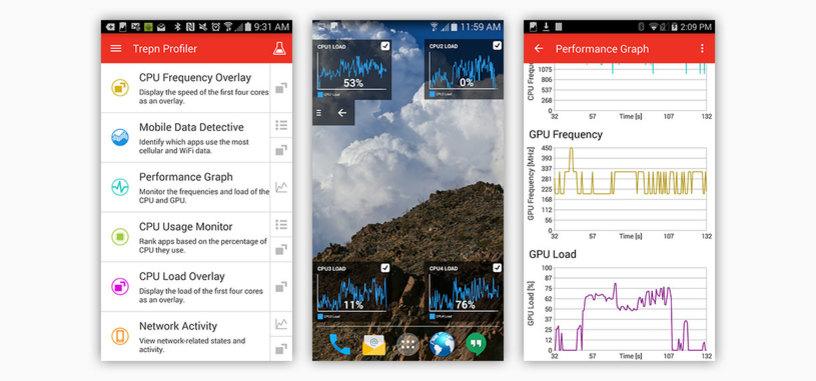Trepn Profiler es la aplicación de Qualcomm para que controles el consumo de tu Android