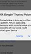 Google añadirá desbloqueo por voz a los dispositivos Android
