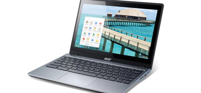 Chrome OS se actualiza a la versión 42 y lleva Google Now a los Chromebooks