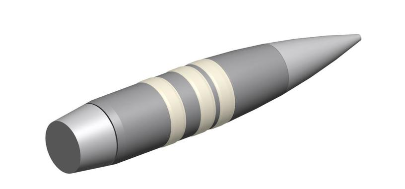Esta bala cambia su trayectoria en vuelo para impactar en blancos en movimiento