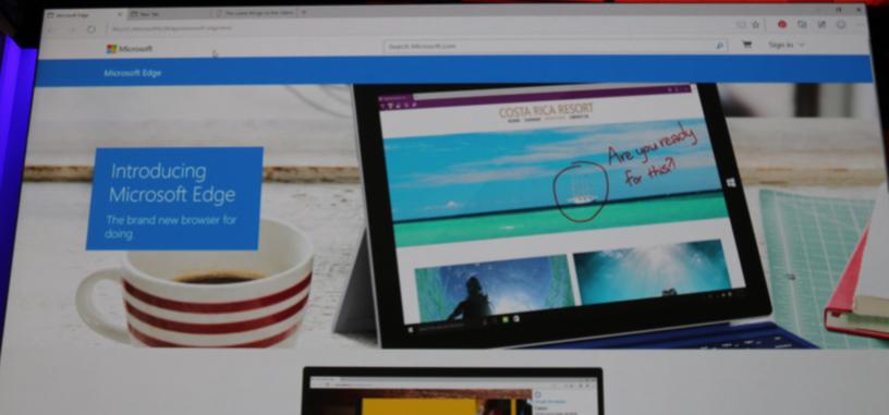 El navegador Project Spartan se llamará Microsoft Edge, compatible con extensiones de Chrome