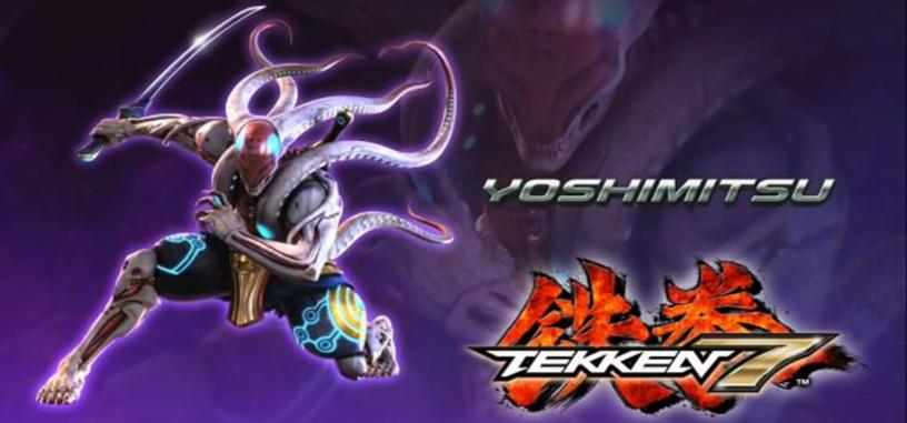 Yoshimitsu se deja el 'pelo' largo para Tekken 7