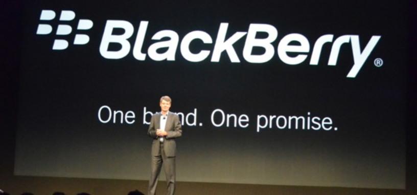 BlackBerry, la anteriormente conocida como RIM, presenta BlackBerry 10 y los móviles Z10 y Q10 con teclado físico